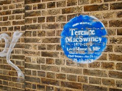 Terence MacSwiney blue plaque