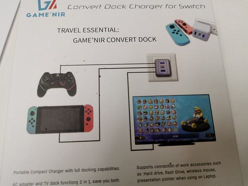 Switch GAMENIR 轉接器 Dock