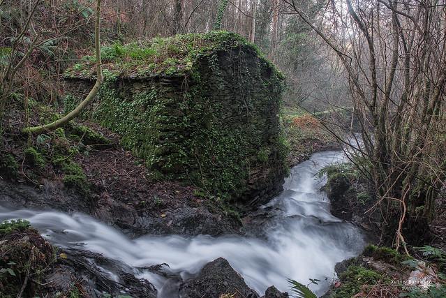 Muíño no Río Aceiteiro