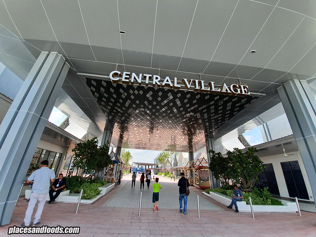 central village luxury outlet
