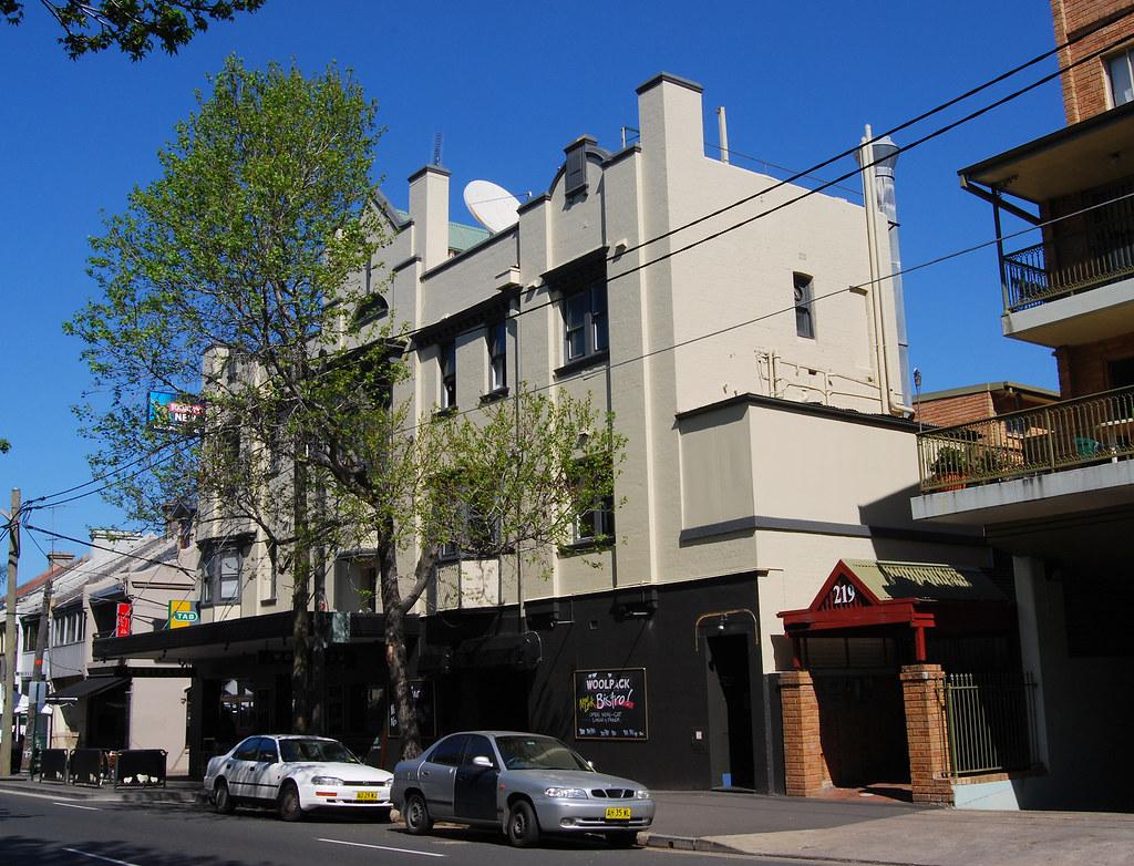 Woolpack Hotel, Redfern, Sydney, NSW.