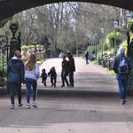 People in Avenham Park, Preston