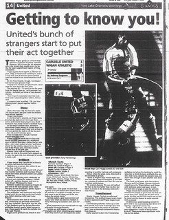 5-8-2000 Carlisle United V Wigan Athletic Match Report | by cumbriangroundhopper