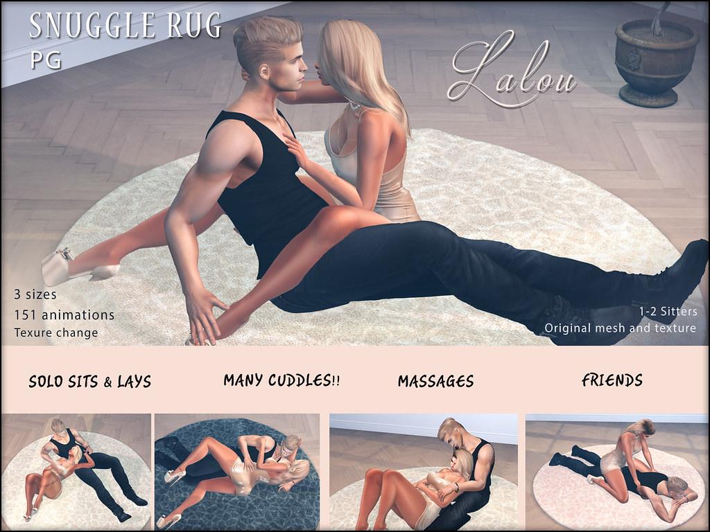 Lalou – Snuggle Rug – PG