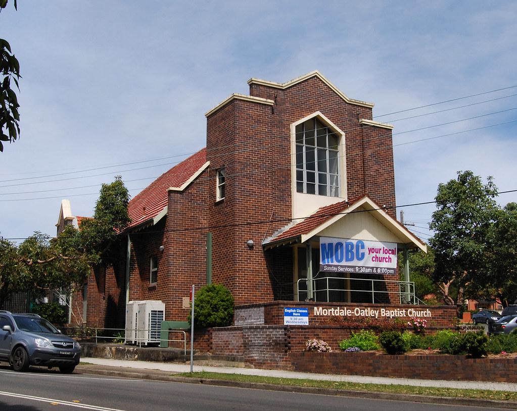 Mortdale Oatley Baptist Church, Oatley, Sydney, NSW.