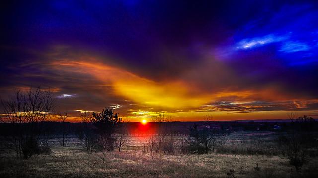 Sunrise in Drzewica