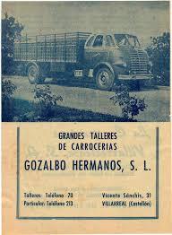 Publicitat cabina i caixa Leyland Carrosseries Gozalbo Vila-real