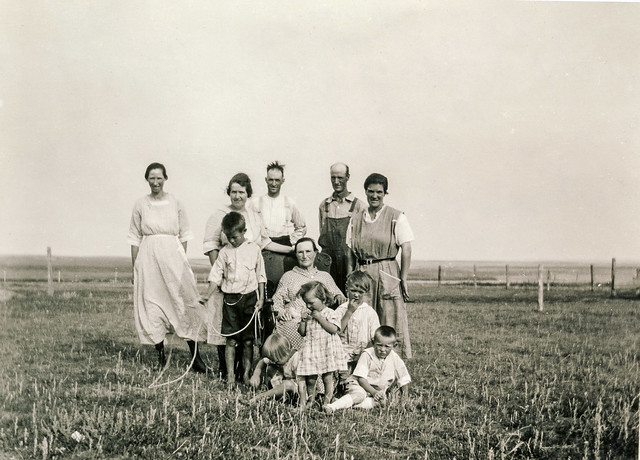 Settlers in Snohomish, ca 1921