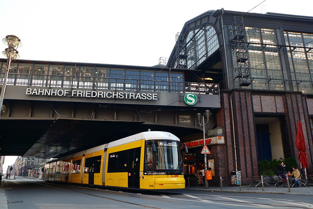 Berlin Deserted / Verlassen II - Friedrichstraße Bahnhof