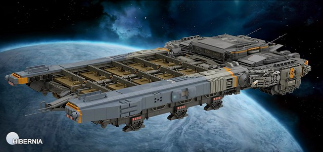 Medium Freighter Ship