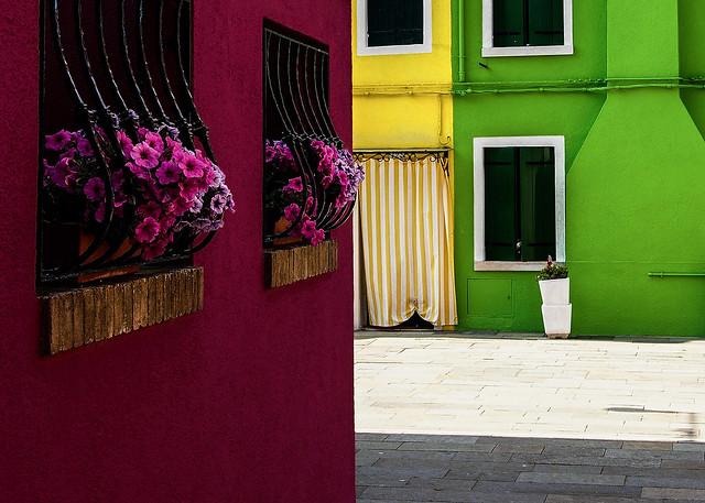 Venise - Les couleurs de Murano.