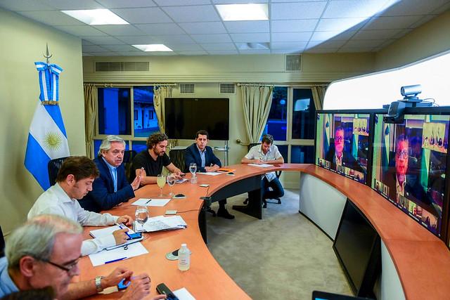 Casa Rosada  Videoconferencias
