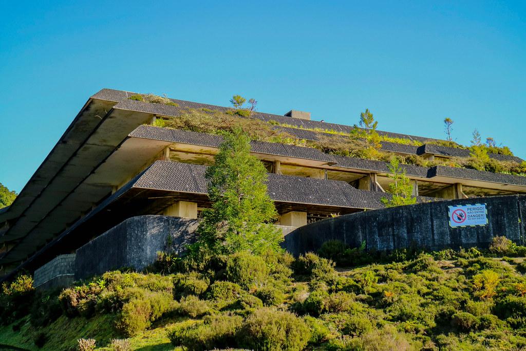 Monte Palace es un hotel abandonado en la isla de Sao Miguel