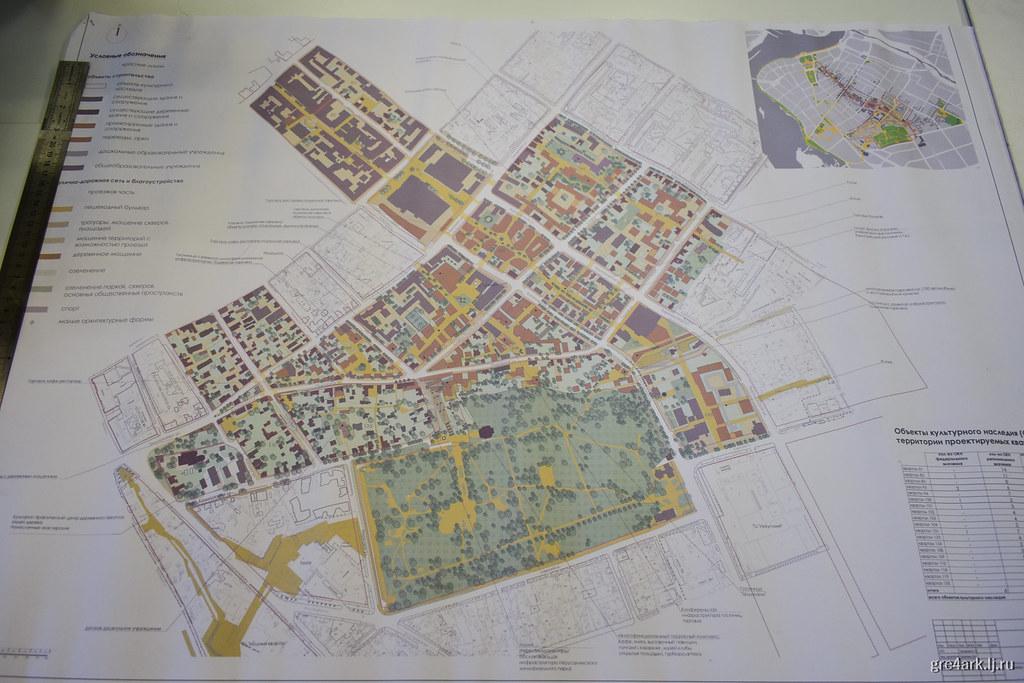 Схема кварталов