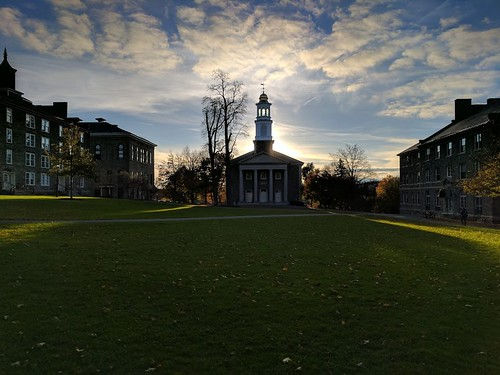 Colgate Memorial Chapel and the Academic Quad
