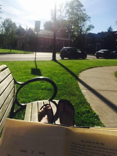 Sunny Day in Hamilton, N.Y.