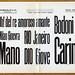 Campionario Caratteri di legno. Societa Niebolo Torino