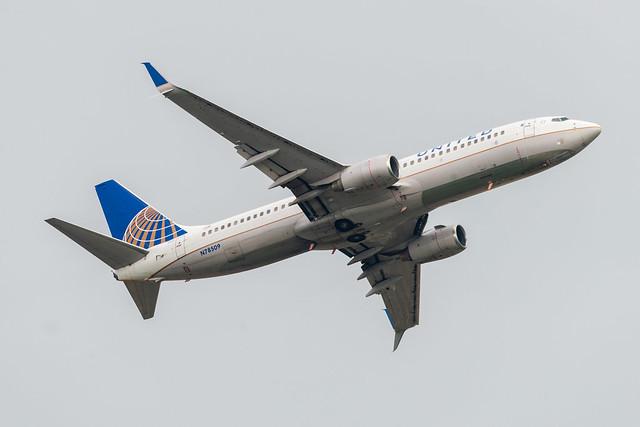 N78509 United Airlines Boeing 737-824(WL)