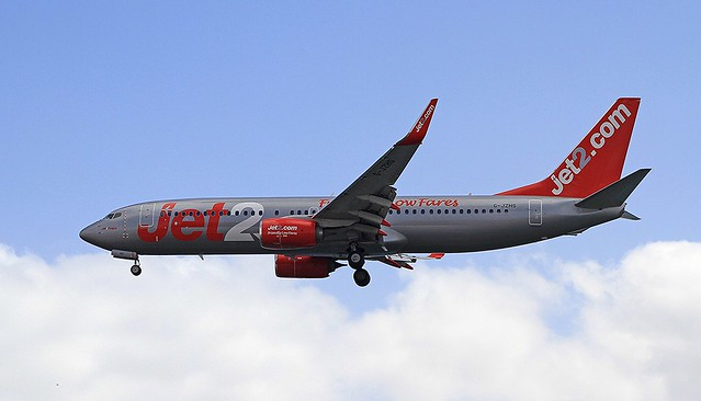 G-JZHS Boeing 737-800 Jet2 Arrecife 02-03-20