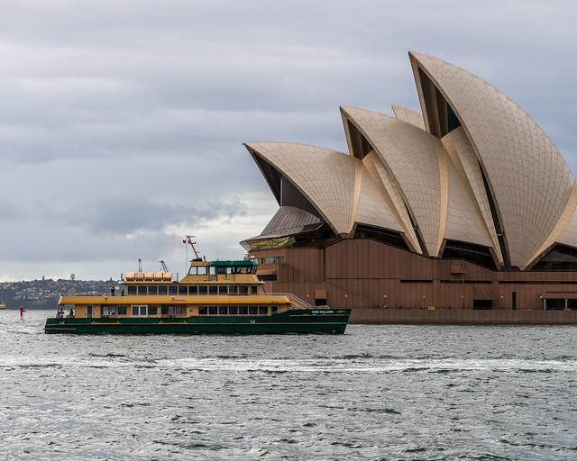 Sydney       Ferry and Opera House