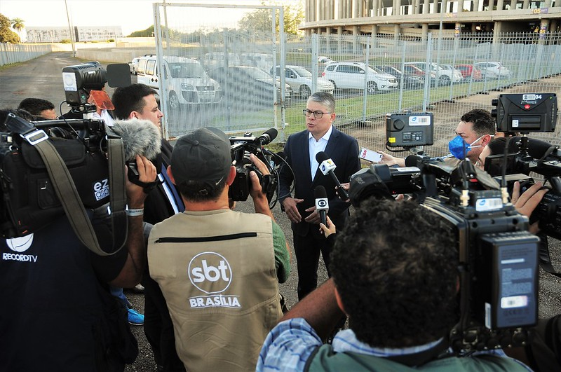 Secretário de Saúde anuncia 200 leitos de retaguarda no Mané Garrincha