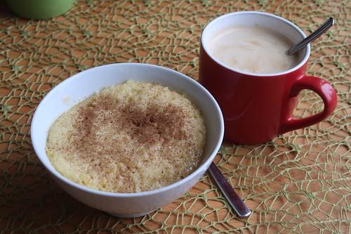 Apfel-Tassenkuchen zum Nachmittagskaffee