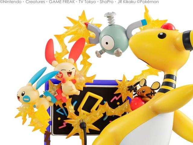 電力充沛,活力十足!G.E.M.EX《精靈寶可夢》電系寶可夢 electric power!(ポケットモンスター でんきタイプ electric power!)PVC塗裝完成品