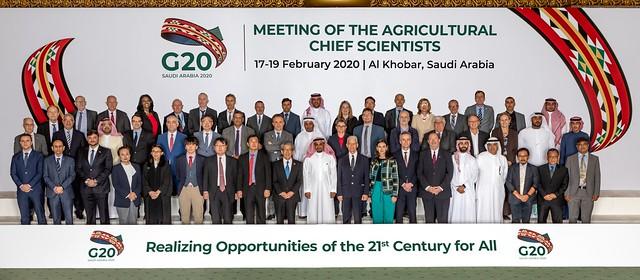 Ninth G20 Meeting of the Agricultural Chief Scientists in Al-Khobar, Saudi Arabia