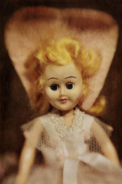 Plastic 1950s Doll
