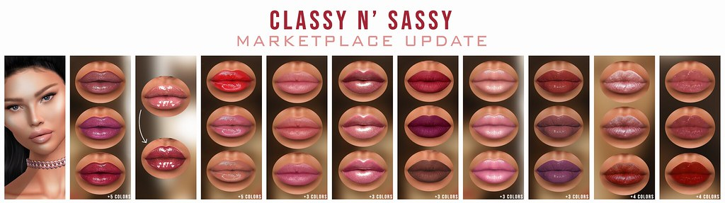 Classy n' Sassy Marketplace Update