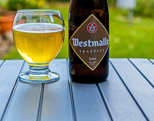 Close Up - A Refreshing Glass of Westmalle Trappist Belgium Beer (Panasonic S1 & Sigma 45mm DN 45mm f2.8 Prime) (1 of 1)