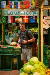 tyler exploring the market