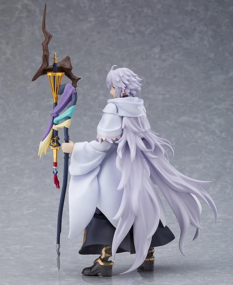 所以說那個飛踢芙芙呢?figma《Fate/Grand Order -絕對魔獸戰線巴比倫尼亞-》 梅林(マーリン)可動人偶