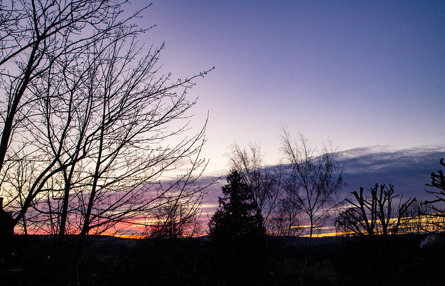 Last embers of sunset. Day 90 of my 2020 366 photo project. #ilkley #wharfedale #yorkshire #landscape #365 #sunset