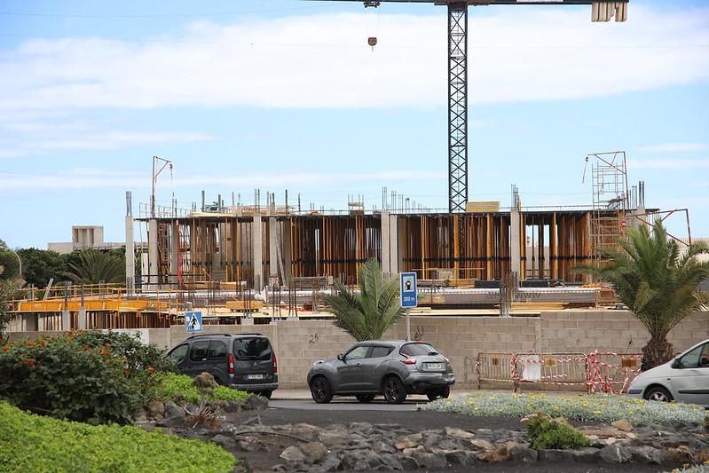 Paran las obras en Lanzarote