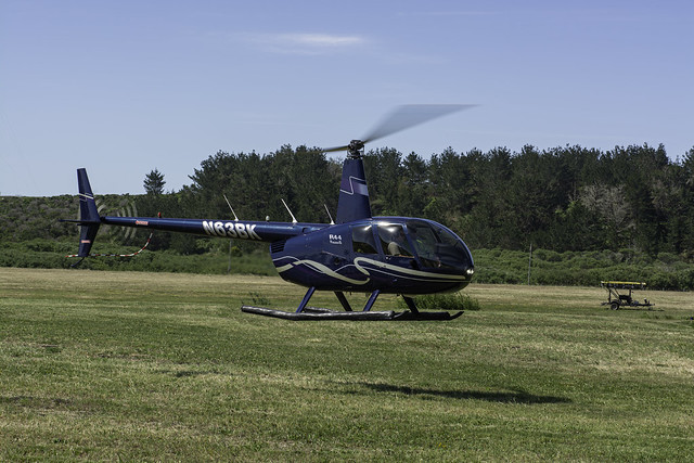 R44 Raven II at Hover