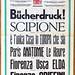 Xilografia Ruggero Zuliani & C.S.A. Verona (Italia). Estratto catlogo generale caratteri