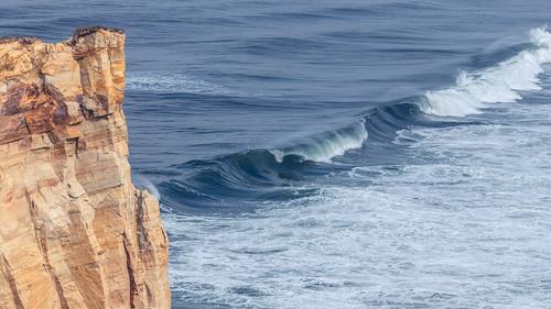 oregon oregoncoast capekiwanda dune beach cliff waves ocean