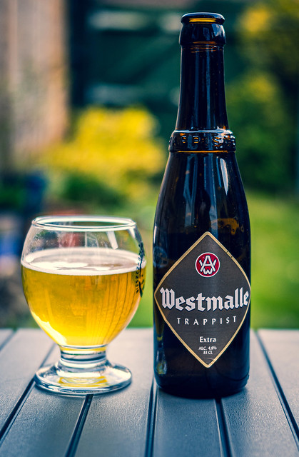 A Refreshing Glass of Westmalle Trappist Belgium Beer (Cross Process Effect) (Panasonic S1 & Sigma 45mm DN 45mm f2.8 Prime) (1 of 1)
