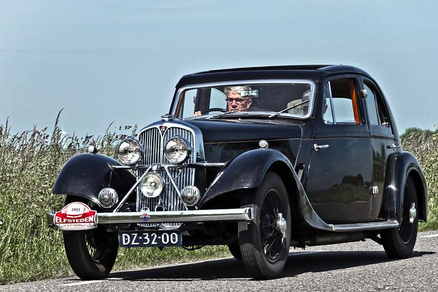 Rover Speed 14 Streamline Coupé 1935 (6196)