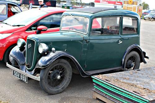 austin 1930s a7 austinseven vscc vscc2016 silverstone ruby ssv693