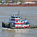 """Pamela Ann"", Mississippi River, New Orleans - 27 Feb 2020"
