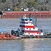 """Silver Fox"", Mississippi River, New Orleans - 27 Feb 2020"