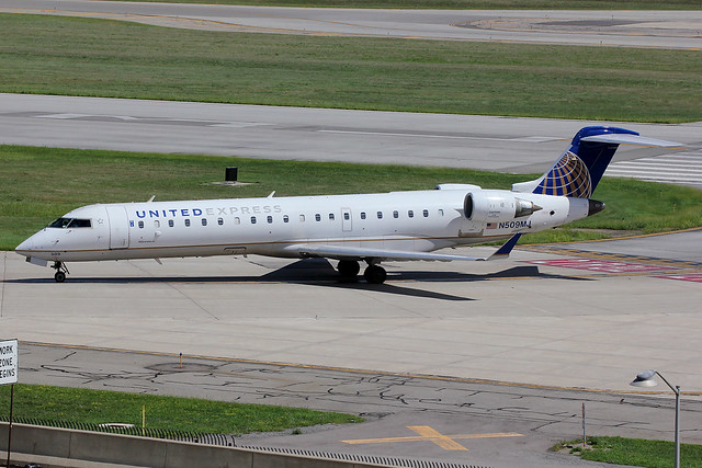 N509MJ | Bombardier CRJ-701ER | United Express (Mesa Airlines)