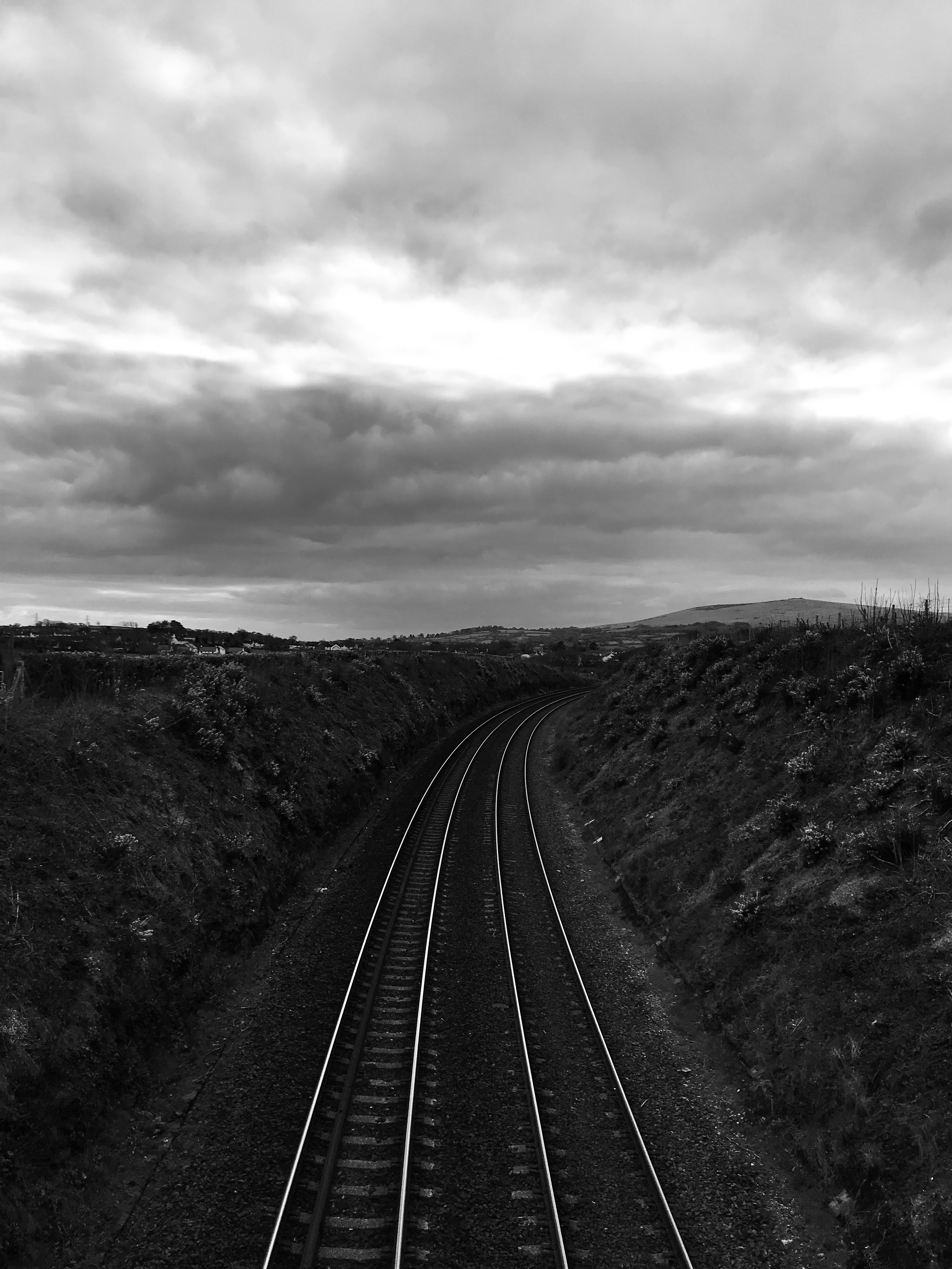 The train line to Plymouth