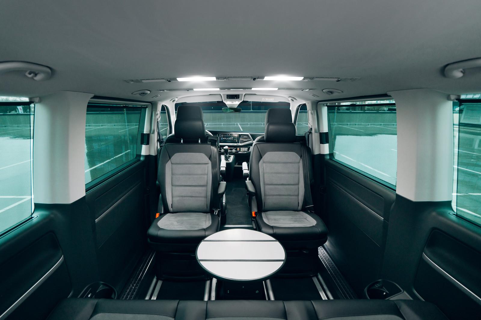 Volkswagen Multivan interior