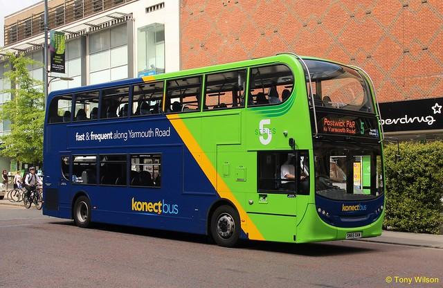 SN65OAM Go-Ahead Konectbus 631
