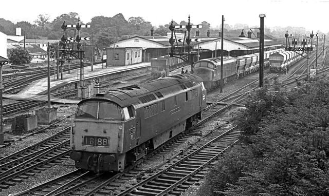 Late afternoon Westbury 1975.