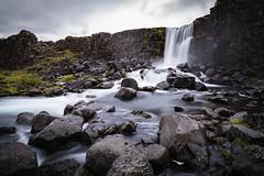 Öxarárfoss, Thingvellir - Iceland  #oxararfoss #waterfall #thingvellir #iceland #islandia #river #icelandic
