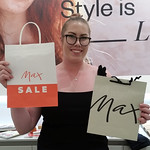 Rowan at Max in Hornby loves their reusable and recyclable paper bags. #nzbagban, #reusablebags, #recycling